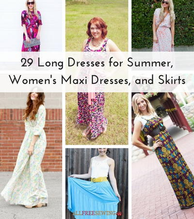 29 Long Dresses for Summer Womens Maxi Dresses and Skirts