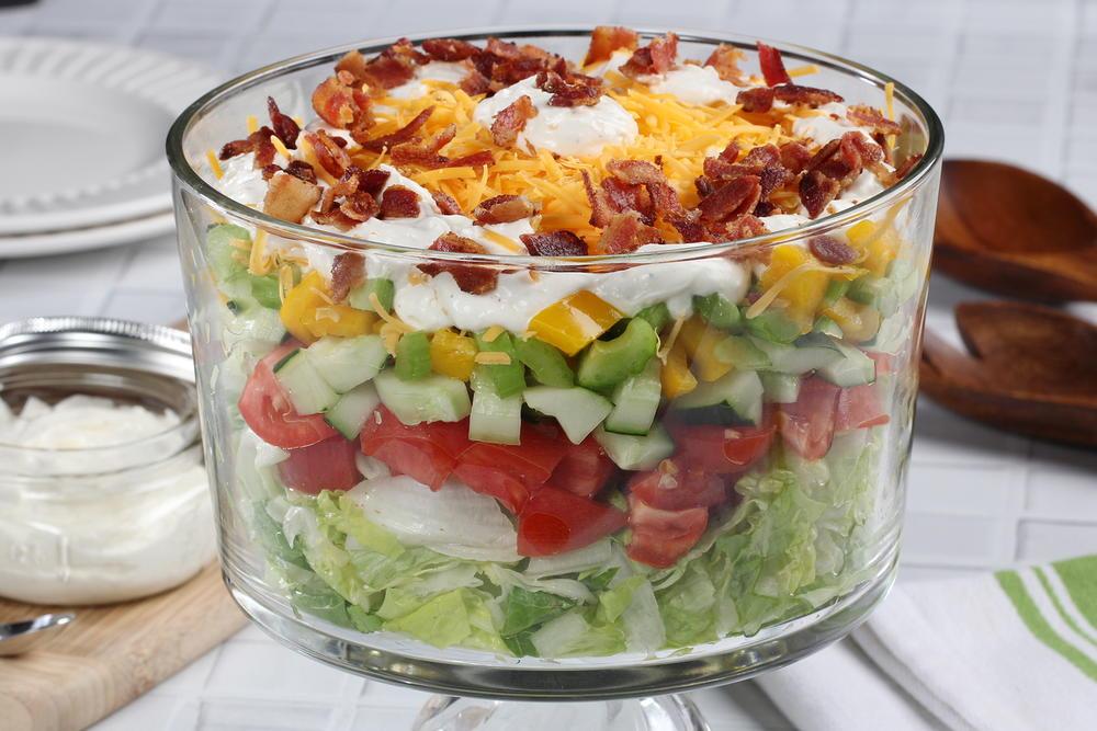 Heavenly Layered Salad