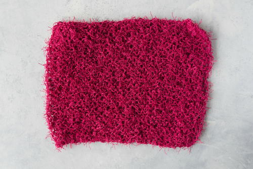 How to Knit an Unbelievably Easy Dishcloth