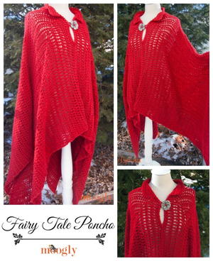 65+ Crochet Poncho Patterns | AllFreeCrochet com