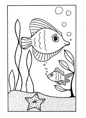 Under the Sea Coloring Page