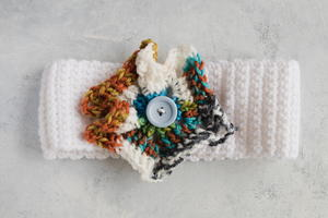How to Add Embellishments to a Crochet Project Using a Button