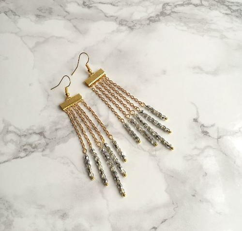 Stunning Waterfall DIY Earrings