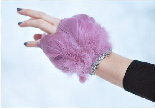 Feather DIY Cuff Bracelet