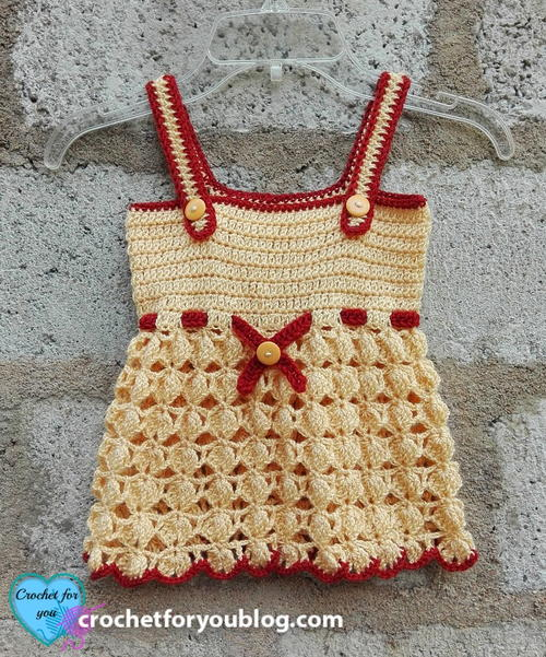 Honey Bliss Baby Sundress