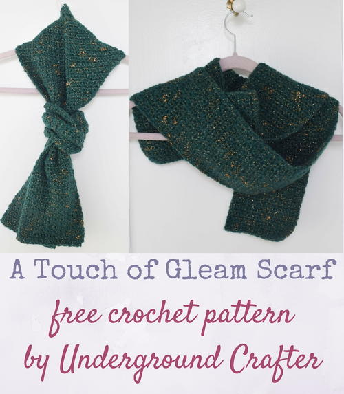 A Touch of Gleam Scarf