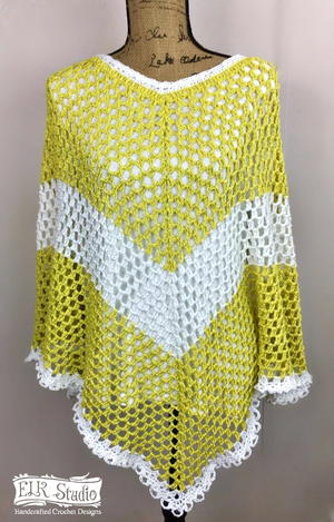 Southern Spring Fling Poncho