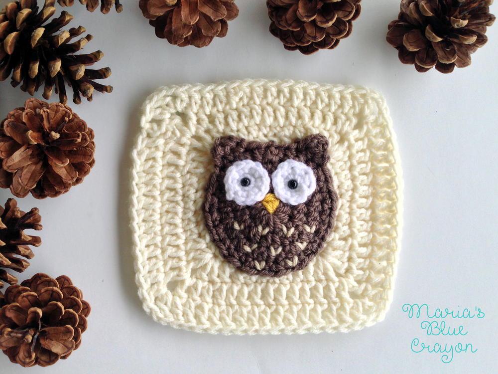 Woodland Owl Granny Square Allfreecrochet Com