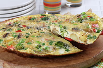 Lazy Weekend Frittata