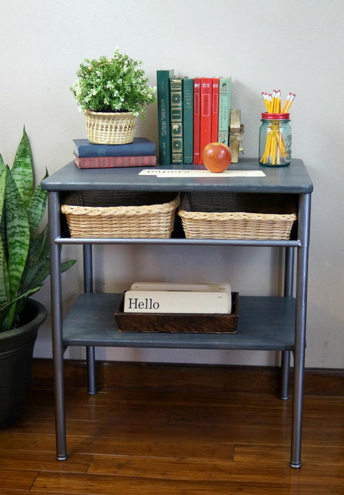 Vintage School Desk Make-Over
