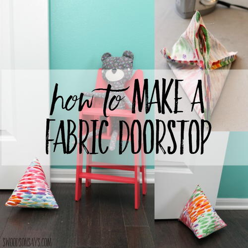 How to Make a Doorstop