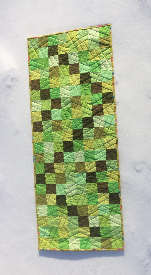 Green with Envy Table Runner