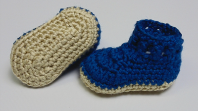 Adorable DIY Baby Booties