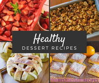 29 Healthy Dessert Recipes