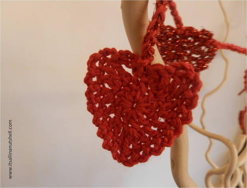 Be My Valentine Heart Garland