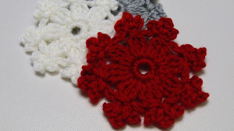 Crochet Snowflake Pattern Allfreecrochet