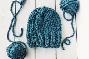 Cozy Bulky Hat Knitting Pattern