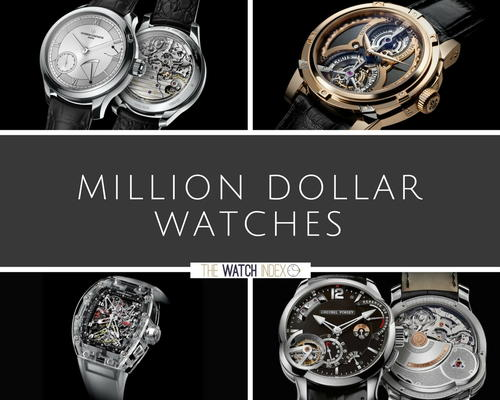 14 Million Dollar Watches