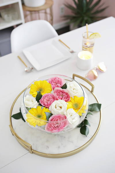 Floating Floral Centerpiece