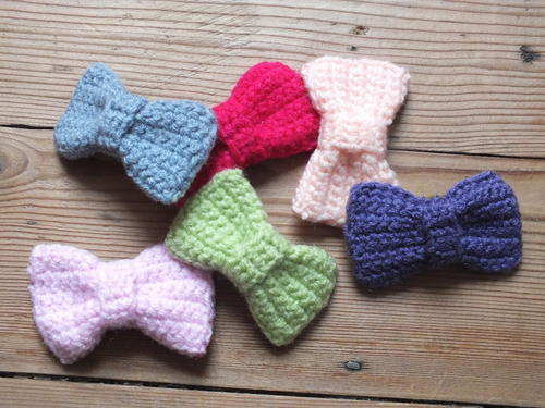 Wee Little Bow Hairclips