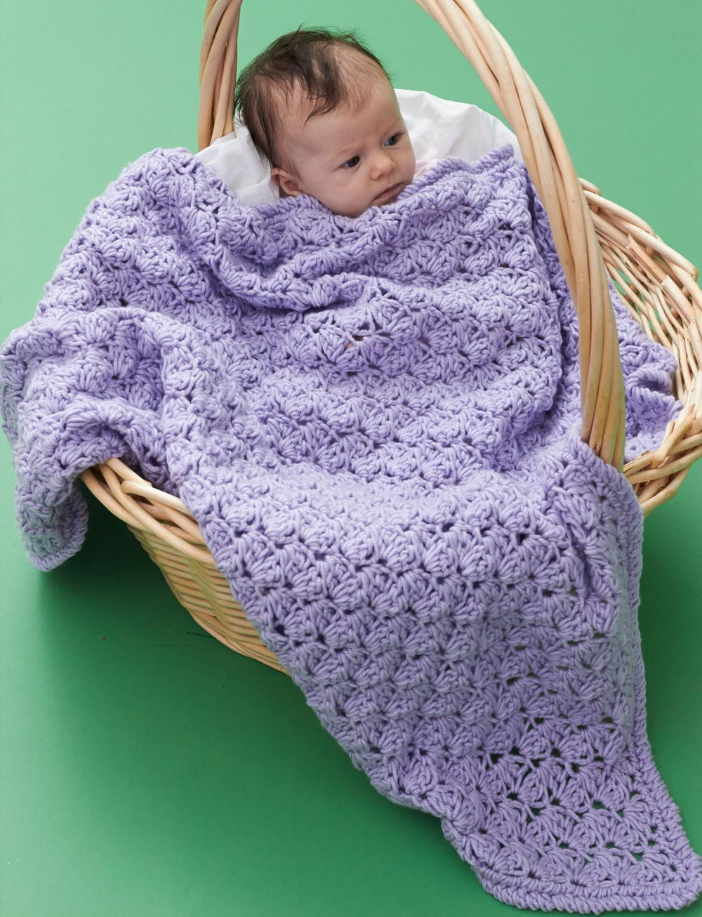 One Skein Lilac Blanket Allfreecrochet Com
