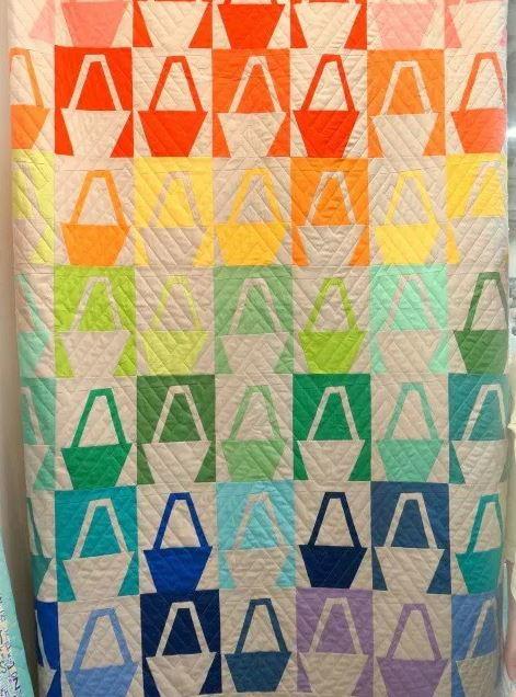 Modern Basket Quilt Block Tutorial Favequilts Com