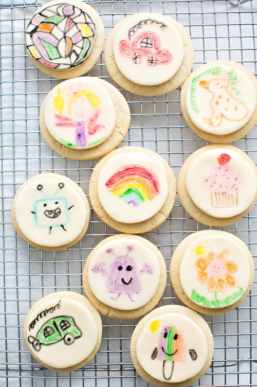 Edible Art Fondant Cookies