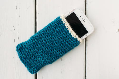 DIY Crochet Phone Cozy