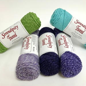 Morning Glory Serendipity Tweed Yarn Giveaway