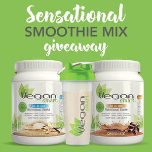 VeganSmart Sensational Smoothie Mix Giveaway