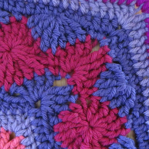 How To Crochet The Catherine Wheel Harlequin and Starburst Stitches