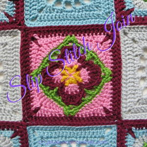 Crochet Slip Stitch Joins Tutorial