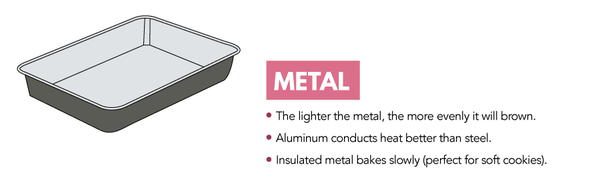 Metal Baking Dishes