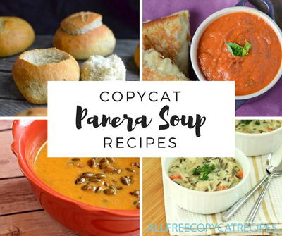 Copycat Panera Soup Recipes