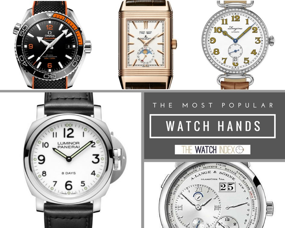 Watches 101: The 12 Most Popular Watch Hands ...
