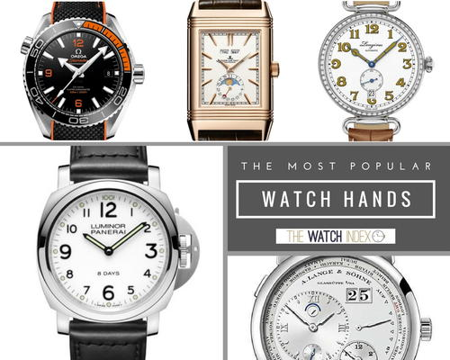 The 12 Most Popular Watch Hands