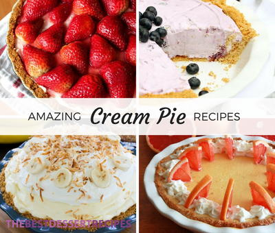 12 Cream Pie Recipes That Are To-Die-For