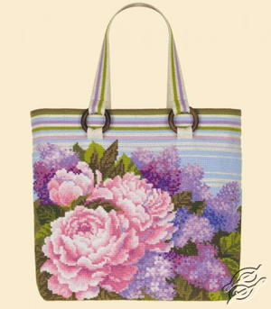 Calming Cross Stitch Summer Bouquet Bag Kit Giveaway