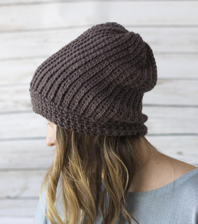Different Knitting Stitches For Hats : Emily Crochet Hat That Looks Like Knitting AllFreeCrochet.com