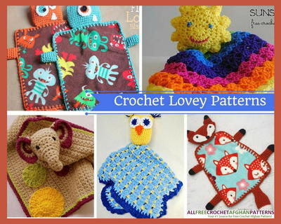 Crochet Lovey Patterns 14 Crochet Blanket Patterns for Babies