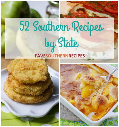 52 Southern Recipes by State