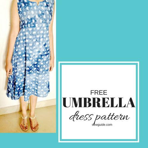 Umbrella Dress Free Sewing Pattern