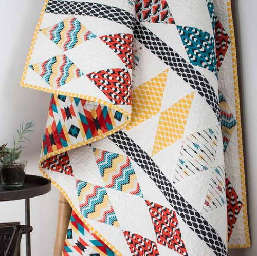 Diamond Totem Quilt Pattern