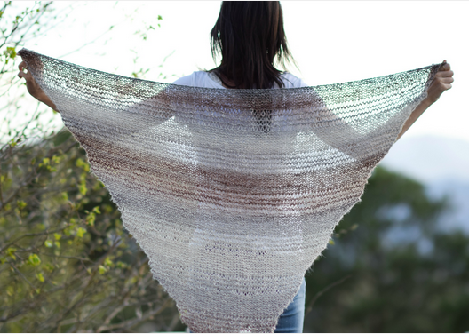 Easiest Ever Triangle Wrap Shawl