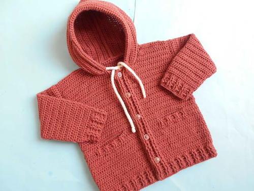 7dbc52288 Baby Hooded Jacket Cardigan