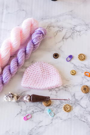Basic Preemie Baby Hat
