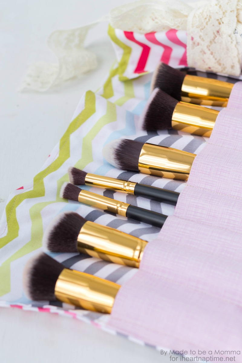 Diy Makeup Brush Roll Allfreesewing Com