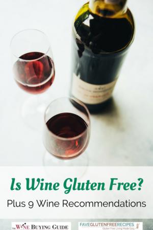 wine on gluten free diet