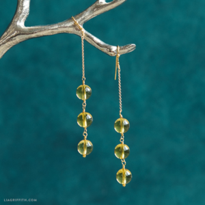 Lemon Drop DIY Earrings
