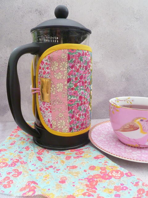 Lovely Liberty Cafetiere Cosy